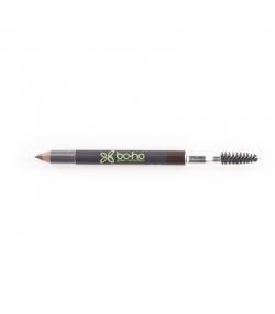 Crayon à sourcils BIO N°01 Brun - 1,04g - Boho Green Make-up