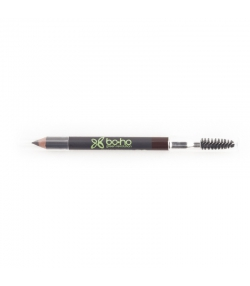 Crayon à sourcils BIO N°01 Brun - 1,04g - Boho Green Make-up