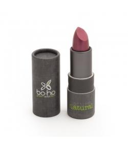 Rouge à lèvres nacré brillant BIO N°406 Cassis - 3,5g - Boho Green Make-up