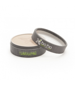 BIO-Kompaktpuder N°02 Helles Beige - 4,5g - Boho Green Make-up