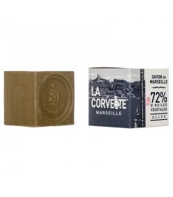 Savon de Marseille vert à l'huile d'olive - 300g - La Corvette