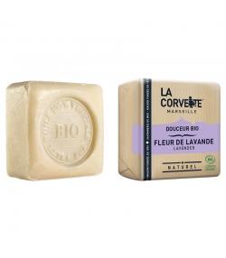 Sanfte BIO-Seife Lavendelblüte - 100g - La Corvette