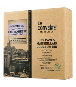 Geschenkbox mit sanften Marseiller BIO-Seifen - La Corvette