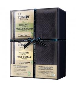 Geschenkbox mit sanften BIO-Badeseifen - La Corvette