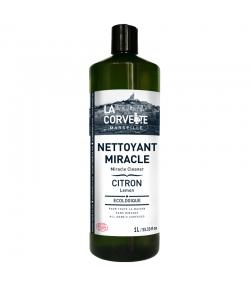 Nettoyant miracle écologique citron - 1l - La Corvette