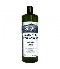 Flüssige Schwarze Seife mit Olivenöl - 1l - La Corvette