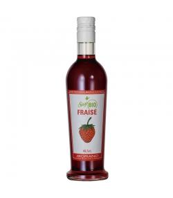 Sirop de fraise BIO - 49,5cl - Morand
