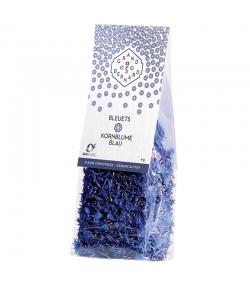 Essbare BIO-Blüten von blauen Kornblumen - 4g - Grand-St-Bernard