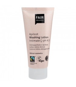 Lotion de toilette intime pH 4,5 BIO abricot - 100ml - Fair Squared