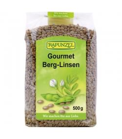 Lentilles brunes gourmet BIO - 500g - Rapunzel