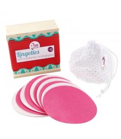 Coffret de 10 lingettes démaquillantes lavables - Lamazuna