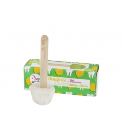 Dentifrice solide sauge & citron - 17g - Lamazuna