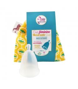 Coupe menstruelle pochette jaune - Taille 2 - 1 pièce - Lamazuna