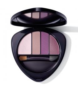 Palette d'ombres à paupières BIO N°01 purple light - 5,3g - Dr.Hauschka