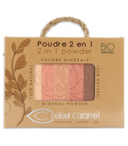 2-in-1 BIO-Puder - 6g - Couleur Caramel