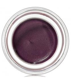 Fard à paupières crème nacrée BIO N°180 Aubergine - 4ml - Couleur Caramel