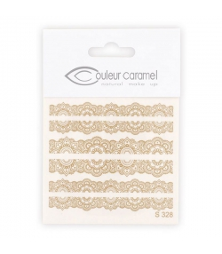 Décalcomanies ongles modèle 2 - Couleur Caramel