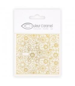 Abziehbilder für Nägel Modell 3 - Couleur Caramel