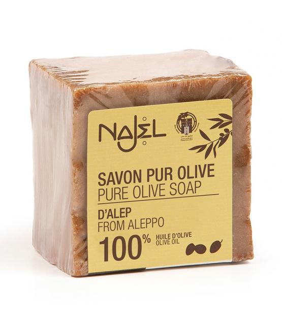 Aleppo Seife mit 100% reines Olivenöl - 200g - Najel