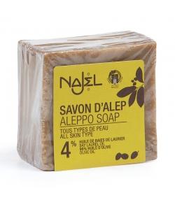Savon d'Alep 4% huile de laurier - 200g - Najel