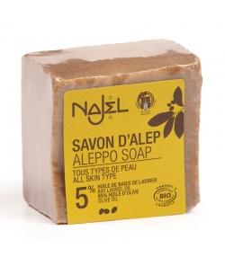 Savon d'Alep BIO 5% huile de laurier - 200g - Najel