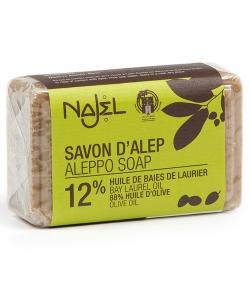 Savon d'Alep 12% huile de laurier - 100g - Najel