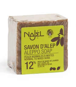 Aleppo Seife mit 12% Lorbeer-Öl - 170g - Najel