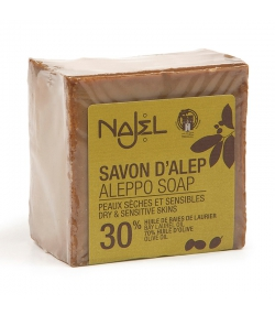 Aleppo Seife mit 30% Lorbeer-Öl - 200g - Najel