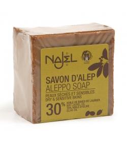 Savon d'Alep 30% huile de laurier - 170g - Najel