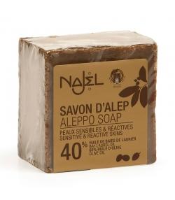 Savon d'Alep 40% huile de laurier - 185g - Najel