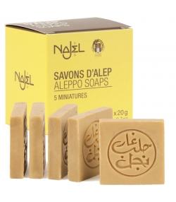 Savon d'Alep 5 miniatures - 5x20g - Najel