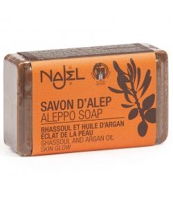 Savon d'Alep rhassoul & huile d'argan - 100g - Najel