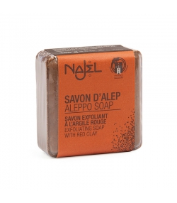 Aleppo Seife mit roter Tonerde - 100g - Najel