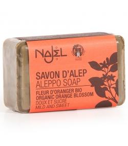 Savon d'Alep à la fleur d'oranger BIO - 100g - Najel