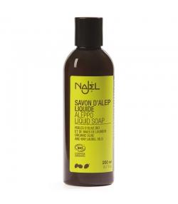 Savon d'Alep liquide BIO olive & laurier - 200ml - Najel
