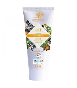 Bain & douche fruité BIO mandarine & orange - 200ml - Cosmo Naturel