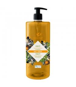 Bain & douche fruité BIO mandarine & orange - 1l - Cosmo Naturel