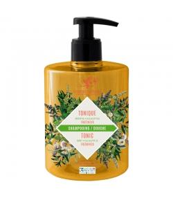 Belebendes BIO-Shampoo & Duschgel Minze & Eukalyptus - 500ml - Cosmo Naturel