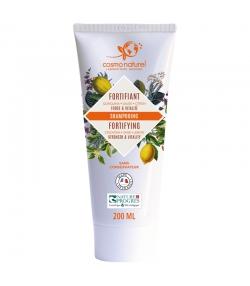 Shampooing fortifiant BIO quinquina, sauge & citron - 200ml - Cosmo Naturel