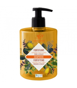 Shampooing fortifiant BIO quinquina, sauge & citron - 500ml - Cosmo Naturel