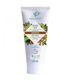 Shampooing cheveux secs BIO beurre de karité, jojoba & aloe vera - 200ml - Cosmo Naturel