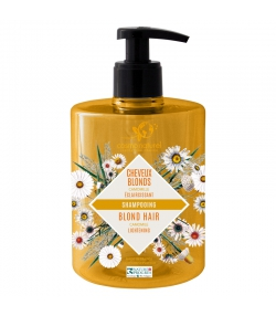 Shampooing cheveux blonds BIO camomille - 500ml - Cosmo Naturel