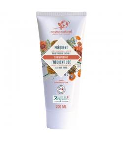 BIO-Shampoo für häufige Haarwäsche Honig, Ringelblume & Hafer - 200ml - Cosmo Naturel