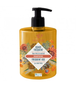 Shampooing usage fréquent BIO miel, calendula & avoine - 500ml - Cosmo Naturel