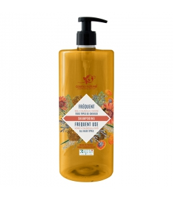 Shampooing usage fréquent BIO miel, calendula & avoine - 1l - Cosmo Naturel