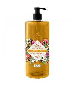 Shampooing & douche BIO miel & propolis - 1l - Cosmo Naturel