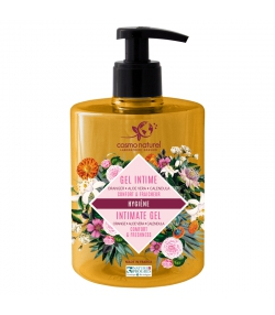 BIO-Intimgel Orangenblüten, Ringelblume & Aloe Vera - 500ml - Cosmo Naturel