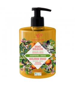 BIO-Shampoo & Duschgel Orange & Majoran - 500ml - Cosmo Naturel