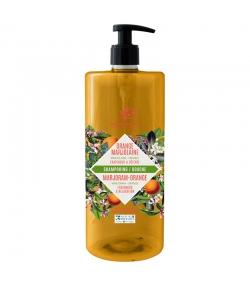 Shampooing & douche BIO orange & marjolaine - 1l - Cosmo Naturel