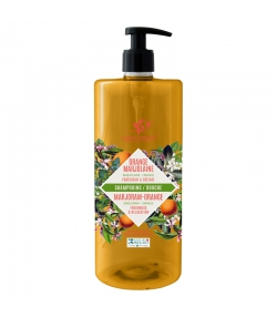BIO-Shampoo & Duschgel Orange & Majoran - 1l - Cosmo Naturel